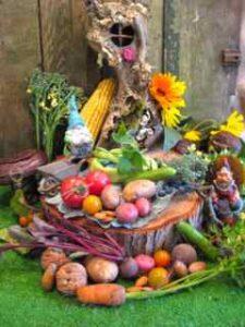 Gnome Harvest, Giving Thanks