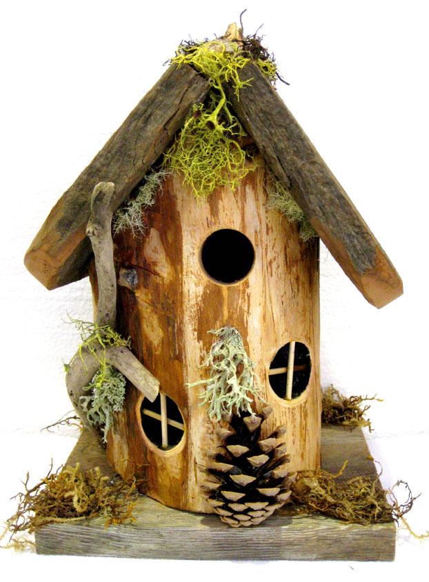 Hobbit Style Birdhouse Whimsical Woods