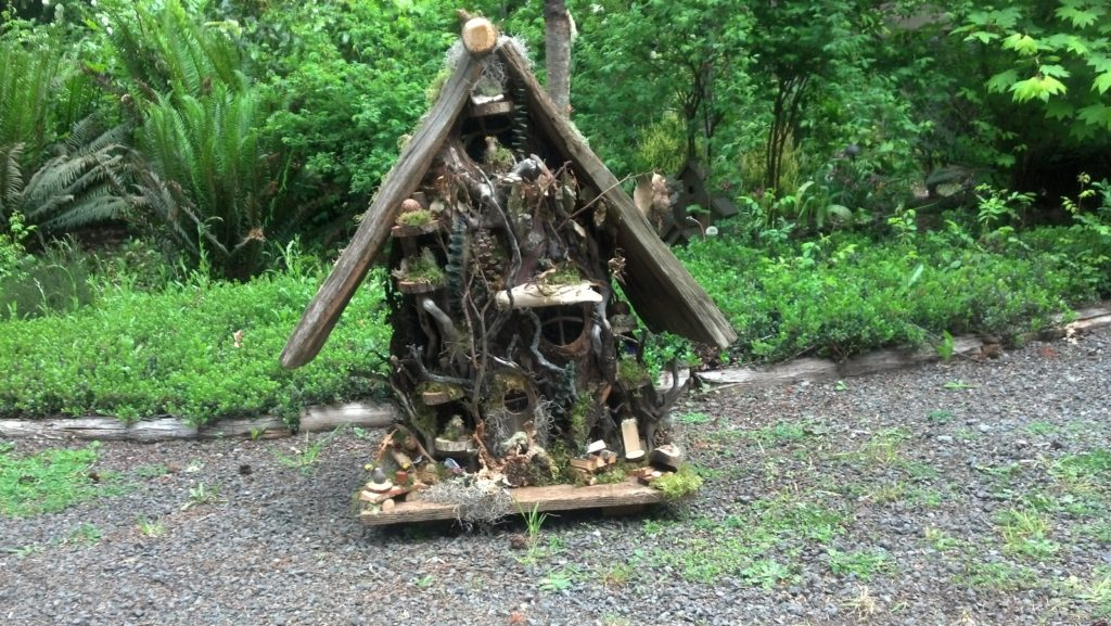 The finished gnome home